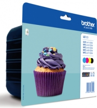 Brother LC123 DCP J4110DW,MFC J4410,4510,4610,4710DW  Tintapatron Eredeti (Multipack)