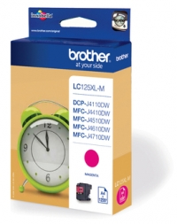 Brother LC125XL DCP J4110DW,MFC J4410,4510,4610,4710DW  Tintapatron Eredeti (Magenta)
