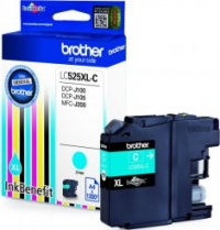 Brother LC525XL Tintapatron Eredeti (Cián)